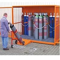 Stockage bouteilles de gaz