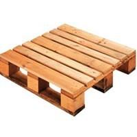 Palette et réhausse bois