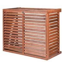 Cage de protection climatiseur