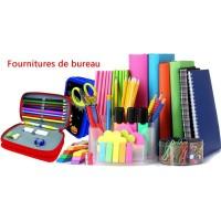 Papeterie et fournitures de bureau